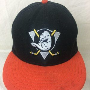 Anaheim Mighty Ducks Fitted 20th Anniversary Hat
